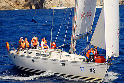 Яхта ANOUK на Marmaris Race Week